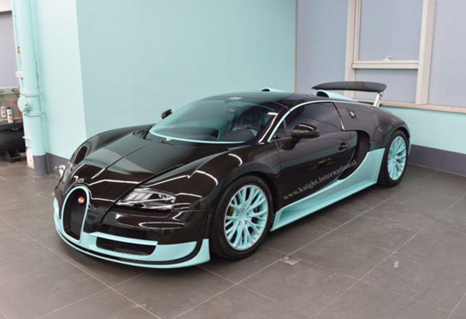 Tiffany Co Bugatti Veyron 1 Of 1 Exotic Car List