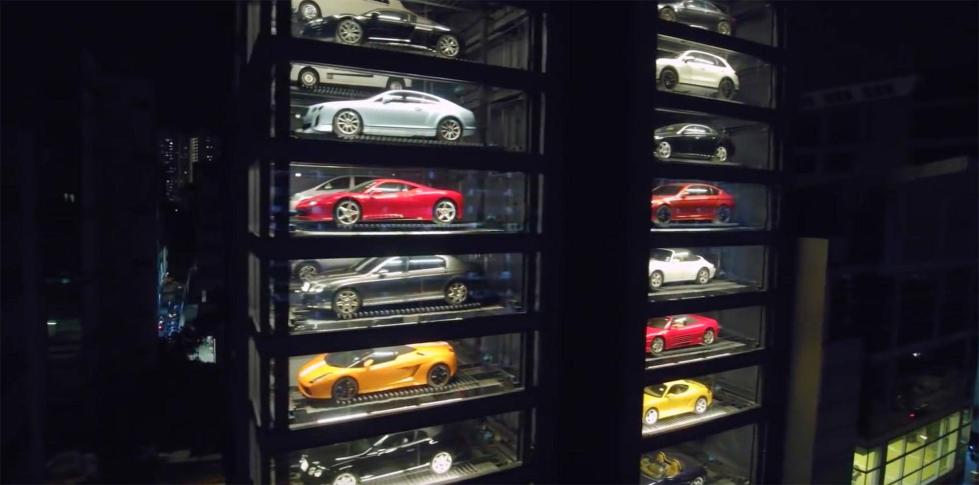 Luxury Car Vending Machine Opens In Singapore Exotic Car