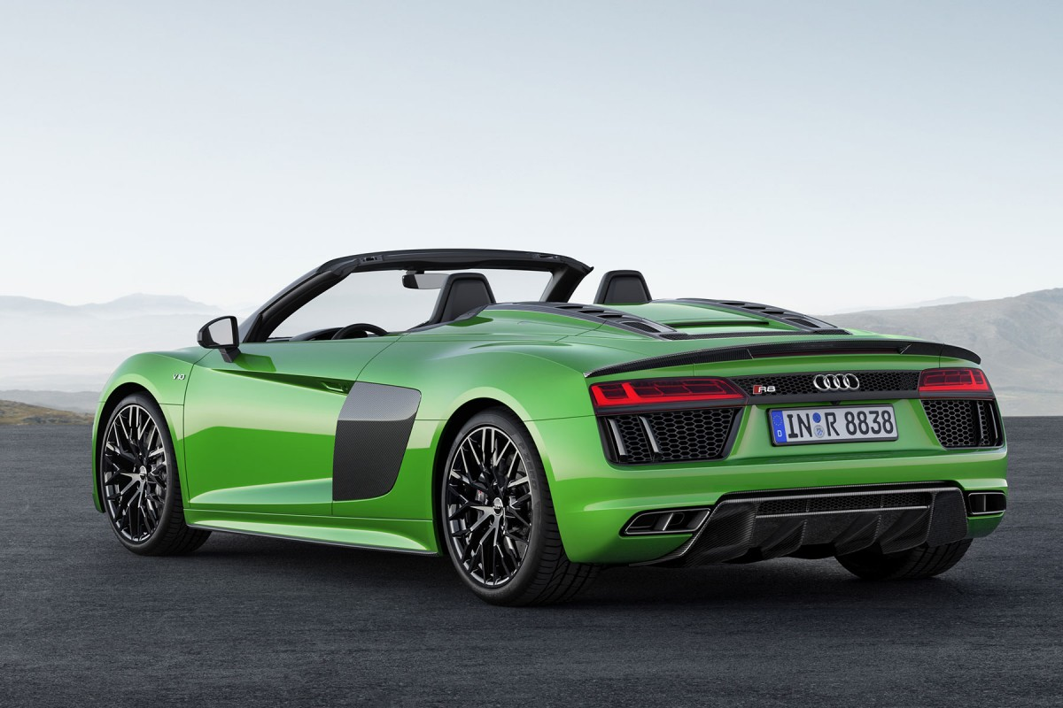 The New Audi R8 Spyder V10 Plus Revealed Exotic Car List