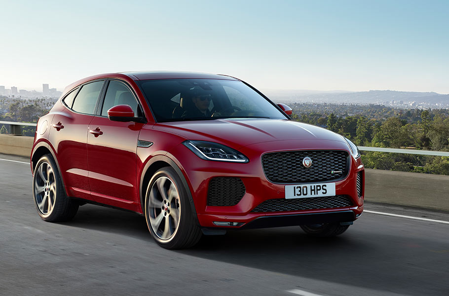 Jaguar E-Pace Makes a Splash