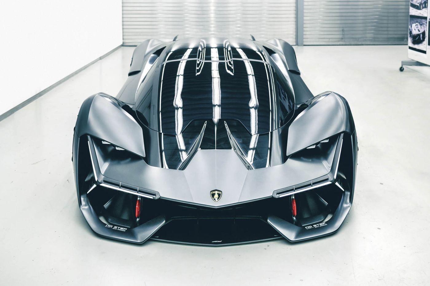 Lamborghini Terzo Millennio Electric Concept Car