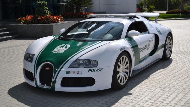 Bugatti Veyron - Dubai police