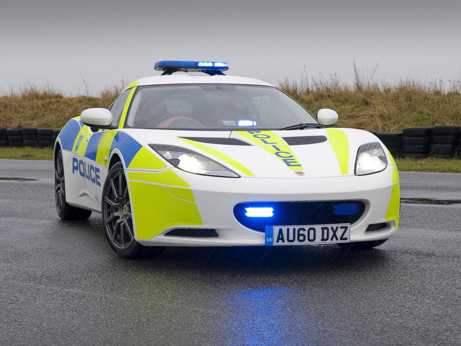 Lotus Evora S - UK police