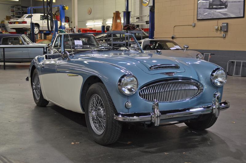 1962 Austin Healey 3000 MK II BT7