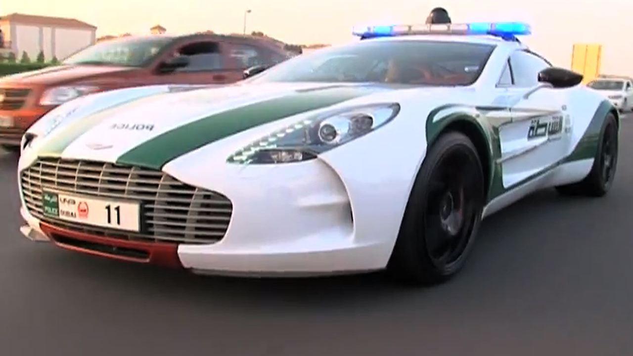 Aston Martin One-77 - Dubai police