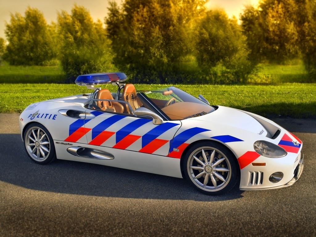 Spyker C8 Spyder – Dutch police