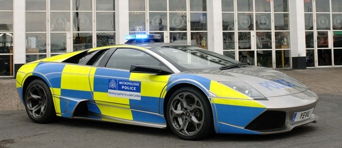 Police Lamborghini Uk British Automotive