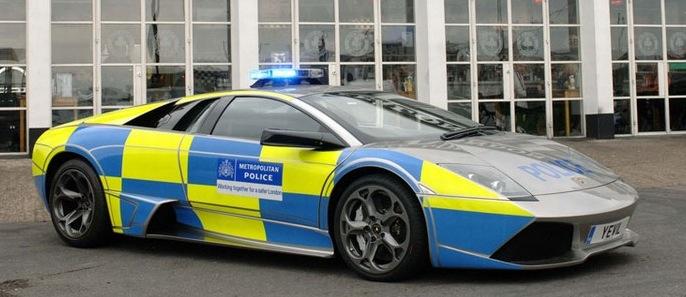 Lamborghini Murcielago – UK police