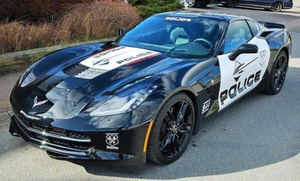 Chevrolet Corvette - US police