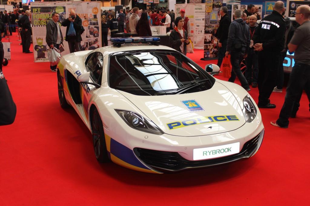 McLaren MP4-12C - UK police