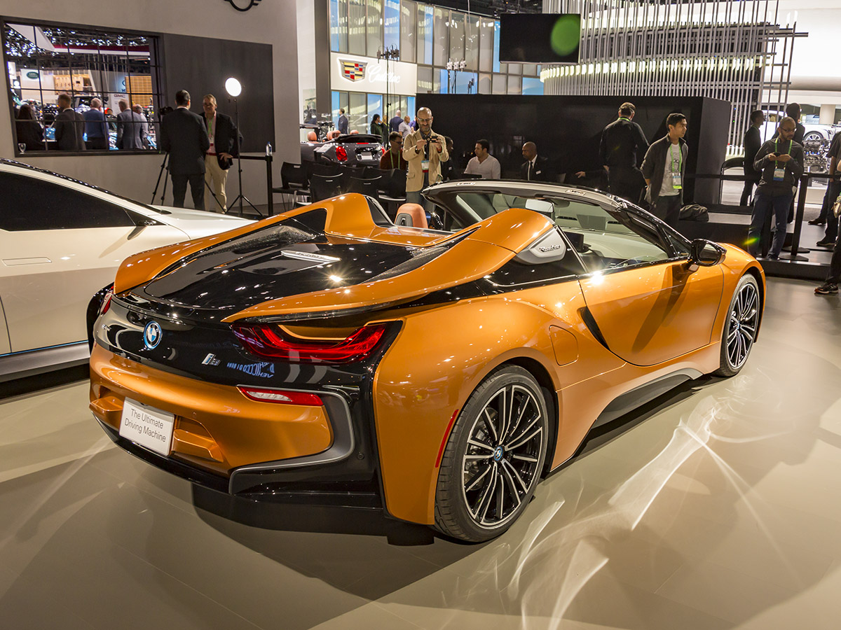 The 2019 Bmw I8 Roadster Review Exotic Car List