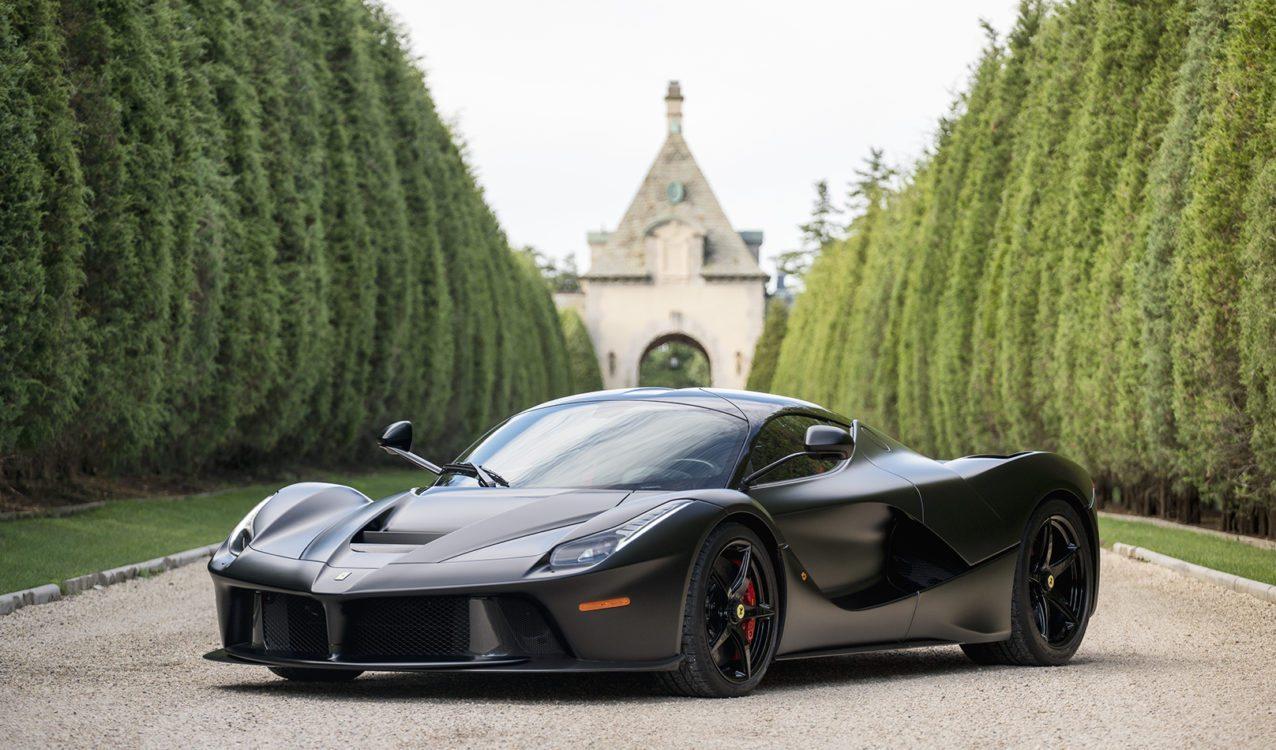 Matte Black Ferrari LaFerrari