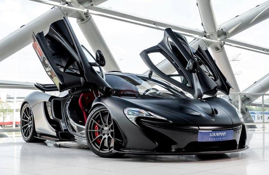 Matte Black McLaren P1