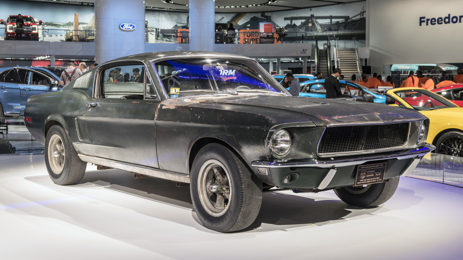 ford mustang bullitt past and present exotic car list. Black Bedroom Furniture Sets. Home Design Ideas