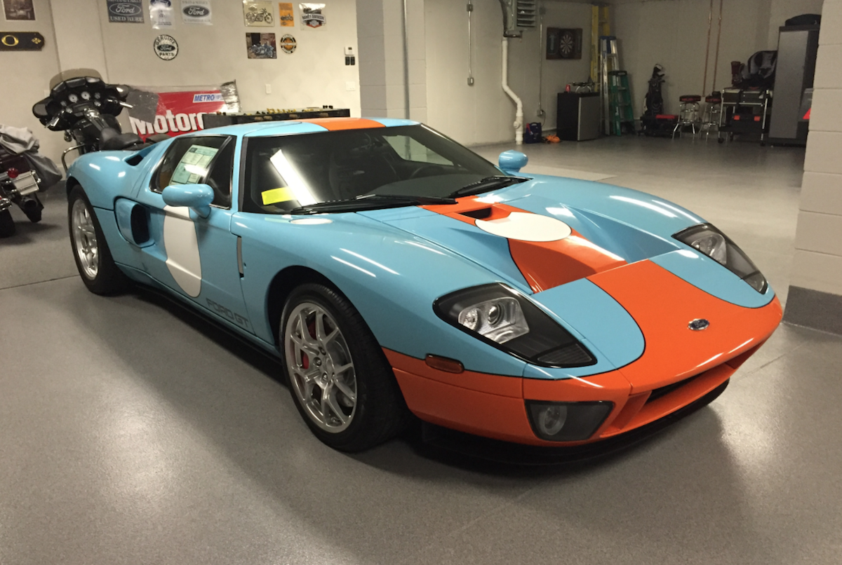 Ford Gt Heritage Edition For Sale