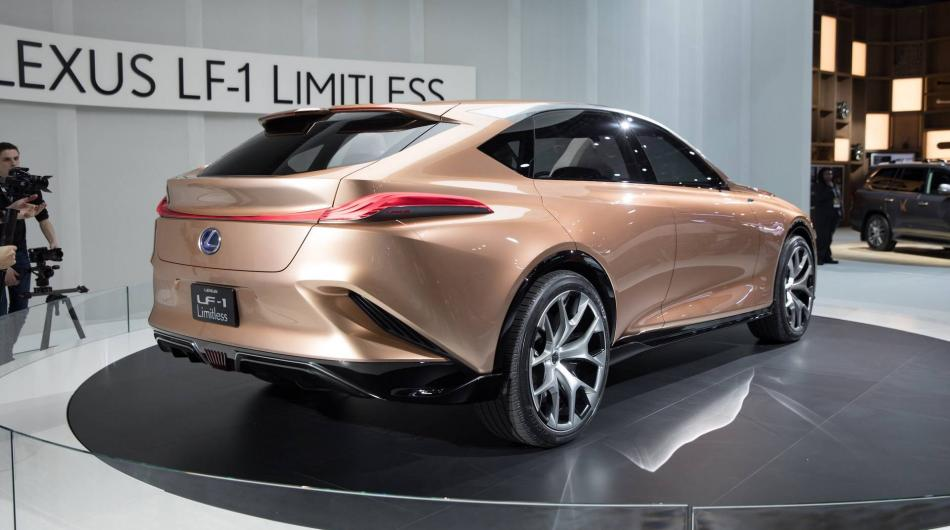 lexus lf 1 limitless concept the do all crossover exotic car list. Black Bedroom Furniture Sets. Home Design Ideas