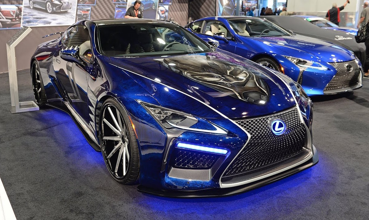 Latest Lexus Cars >> Black Panther Inspired Lexus LC Concept - Exotic Car List