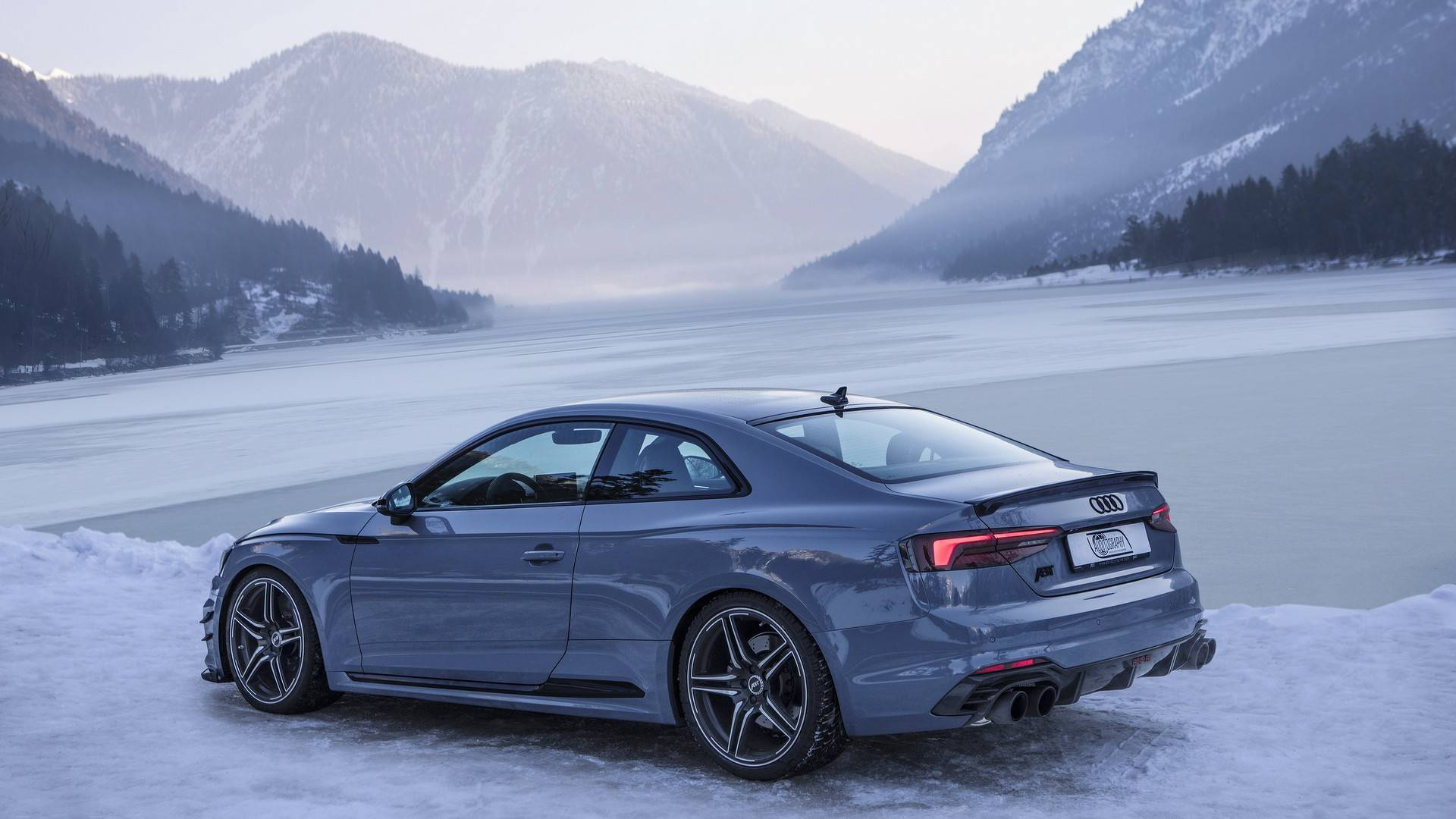 abt audi rs5 r on the austrian alps exotic car list. Black Bedroom Furniture Sets. Home Design Ideas