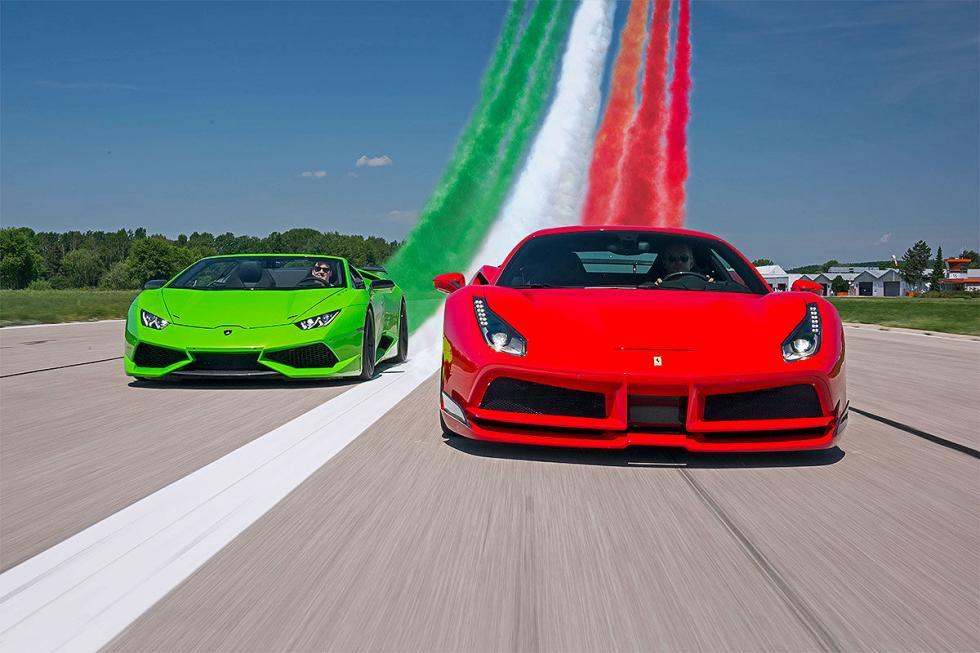 Ferrari 488 GTB vs Lamborghini Huracan