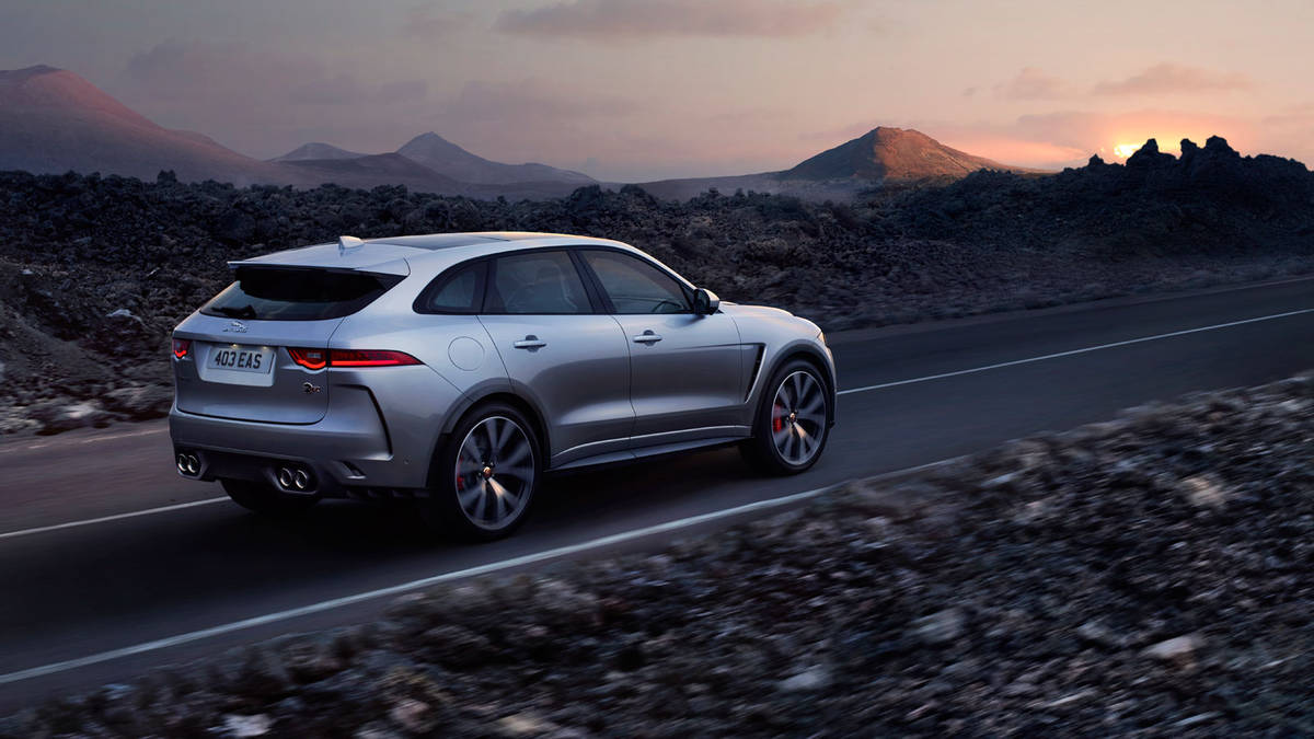 Jaguar F-Pace SVR Review