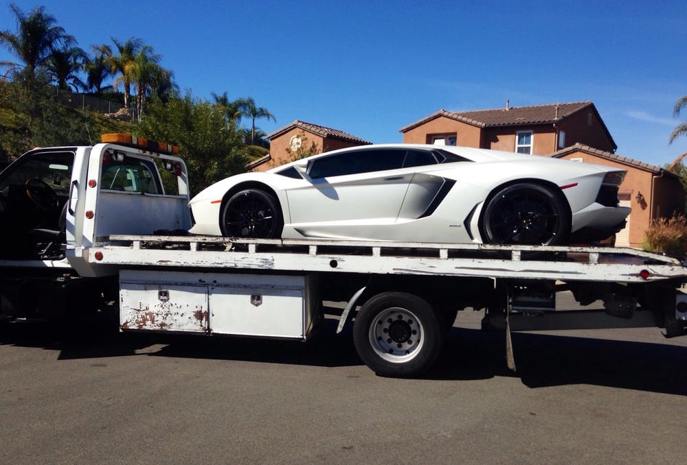 Towing Exotic Cars