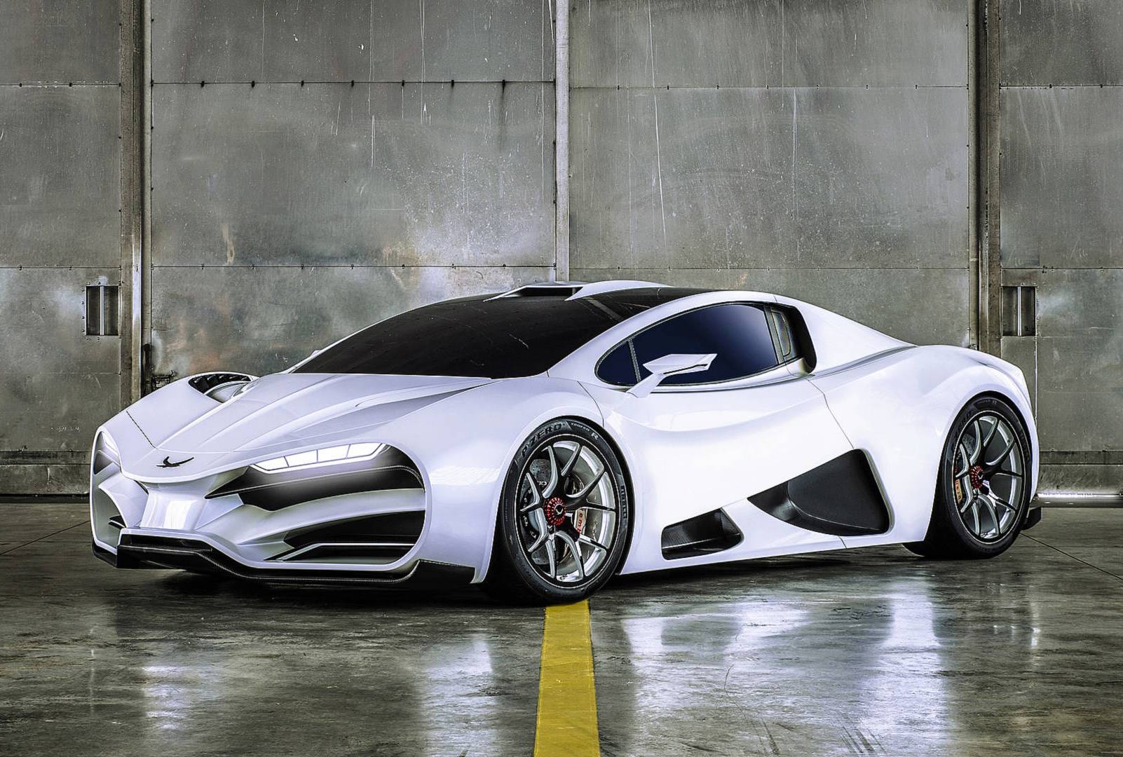 Austrian Auto Maker Milan To Launch 1 300 Hp Red Hypercar