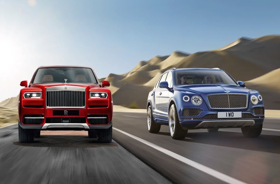 Bentley Bentayga vs Rolls Royce Cullinan