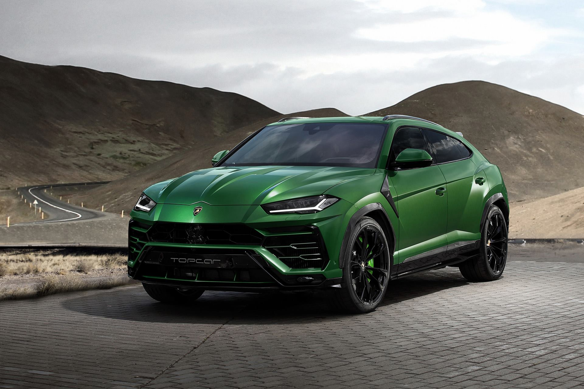 TopCar Reveals Military Green Lamborghini Urus - Exotic ...
