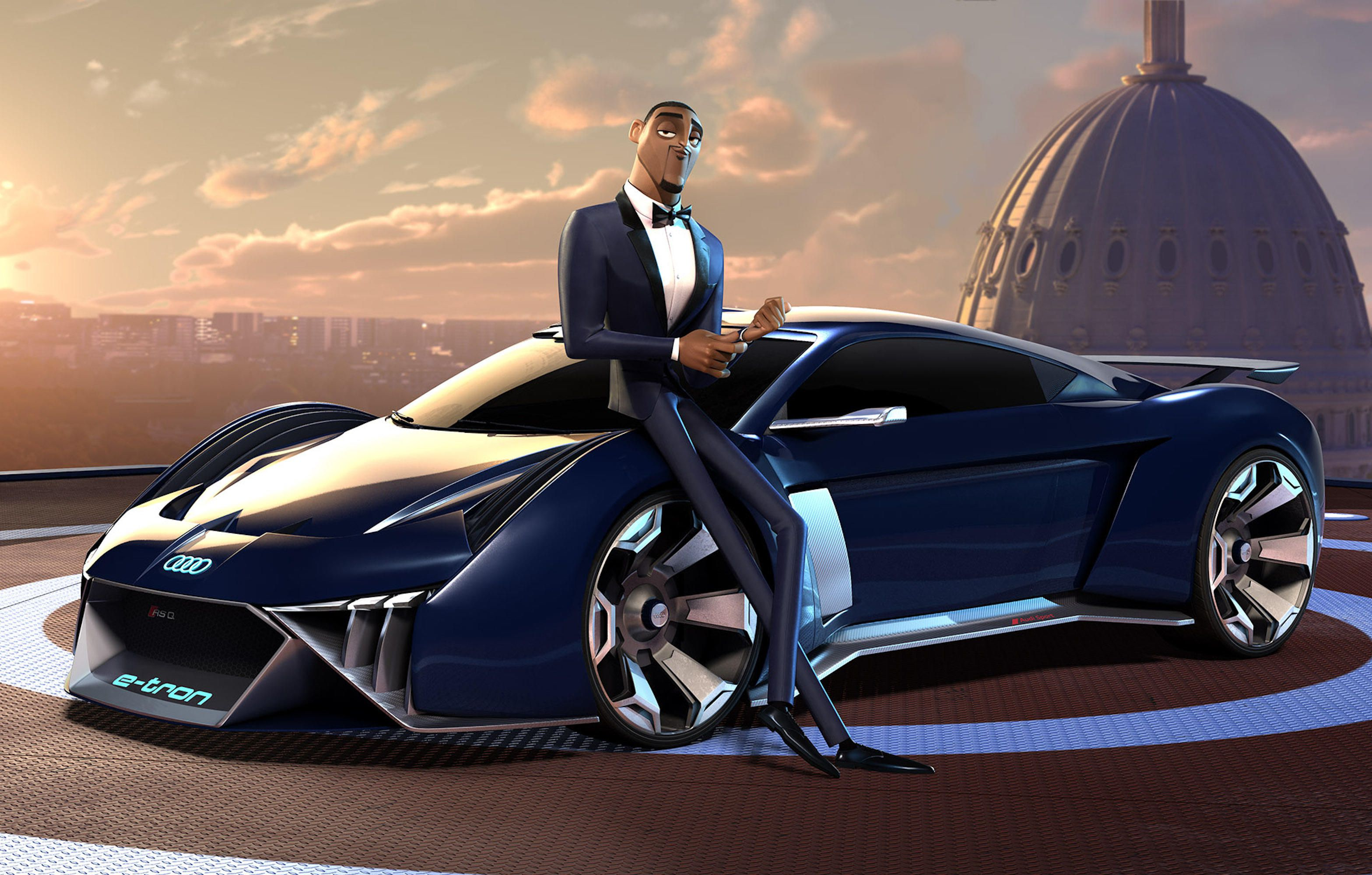 Audi Reveals Animated Supercar In New Movie - Exotic Car List | audi exotic sports car
