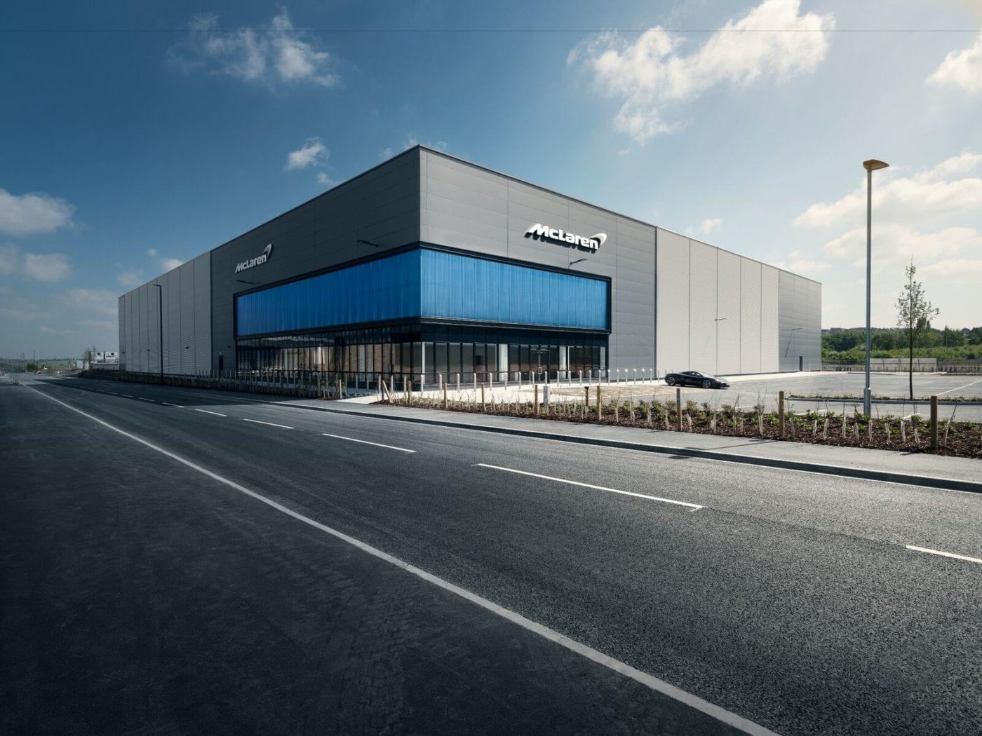 McLaren Center England