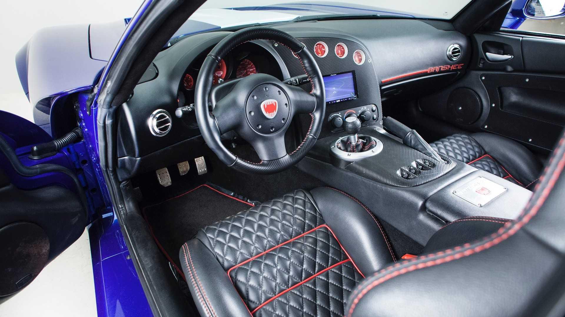 Dodge Viper Bravado Banshee Interior