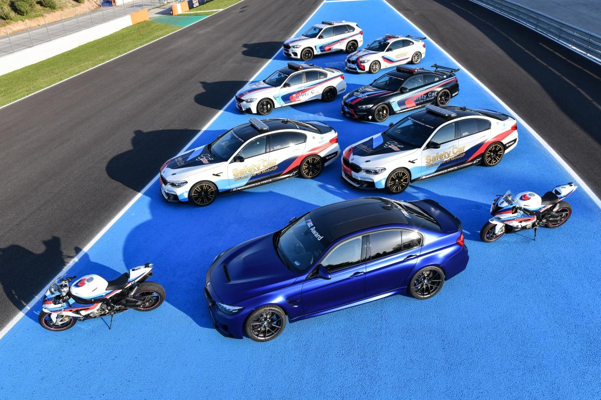 BMW MotoGP Safety Cars