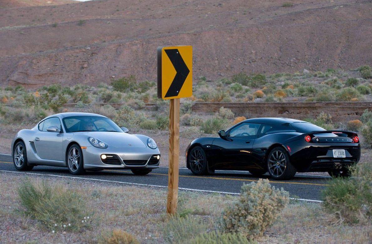 Lotus Evora S vs Porsche Cayman S
