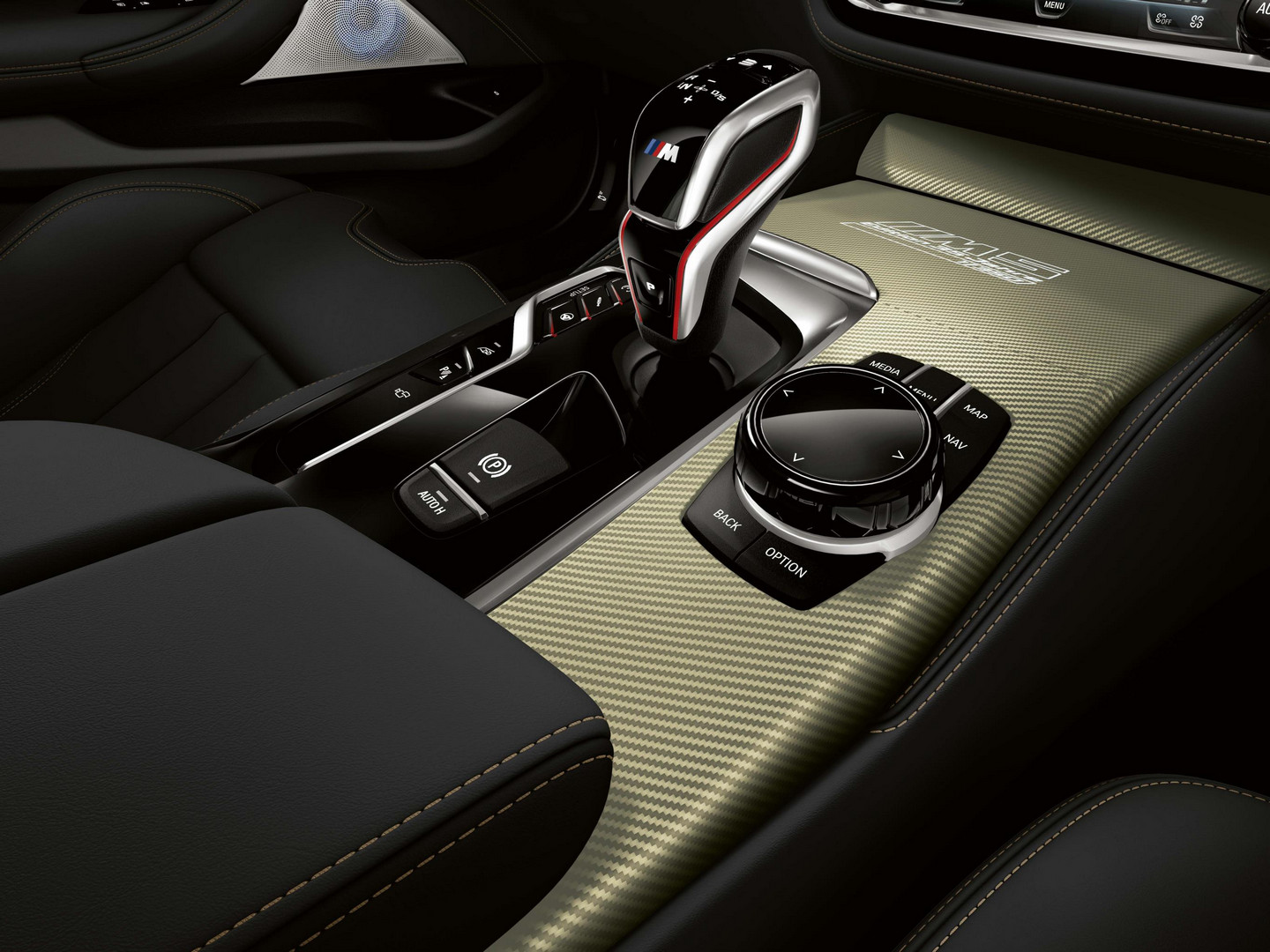 2020 BMW M5 35 Year Edition Interior