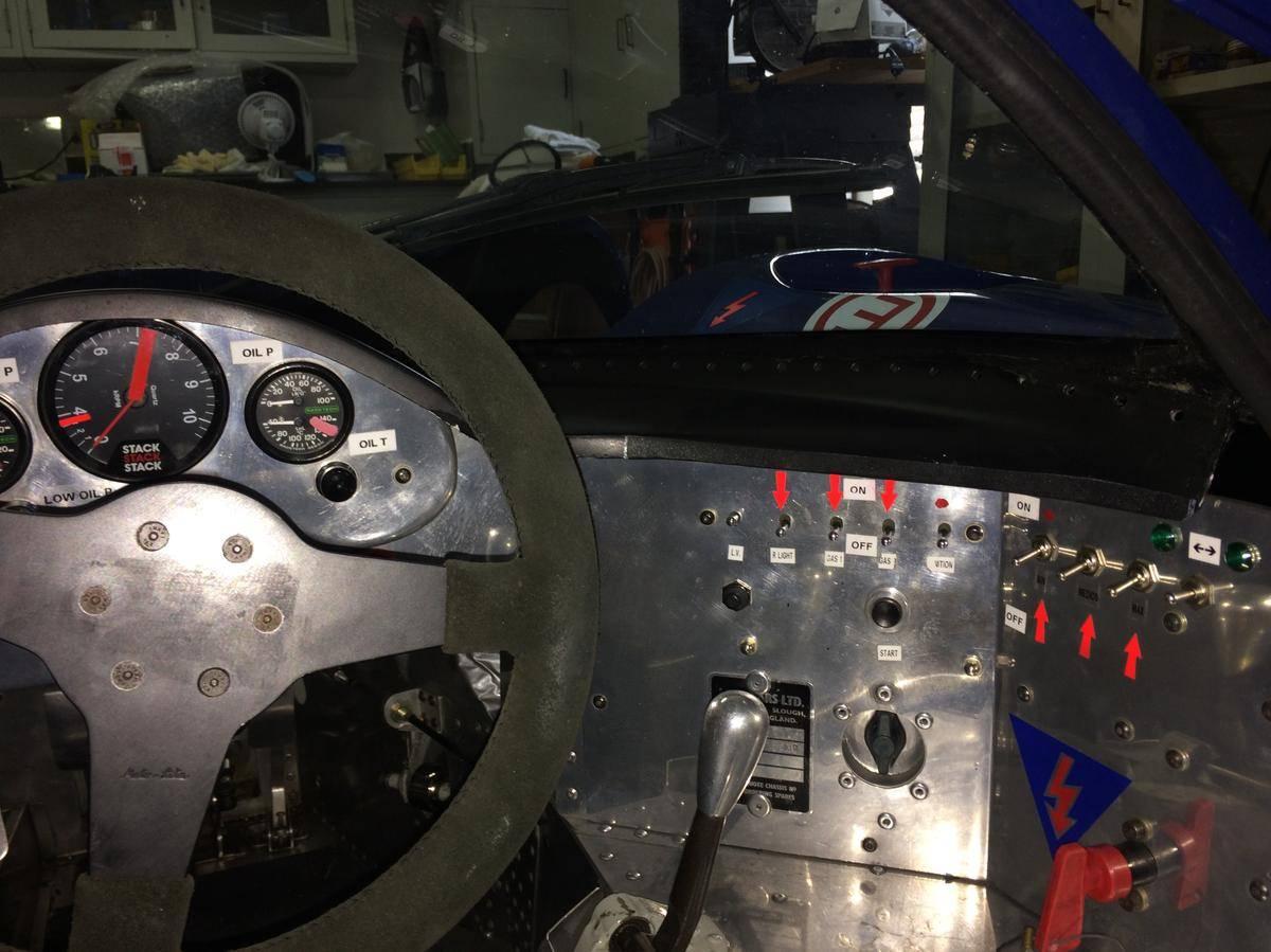 1967 Lola T70 Mk3 Interior