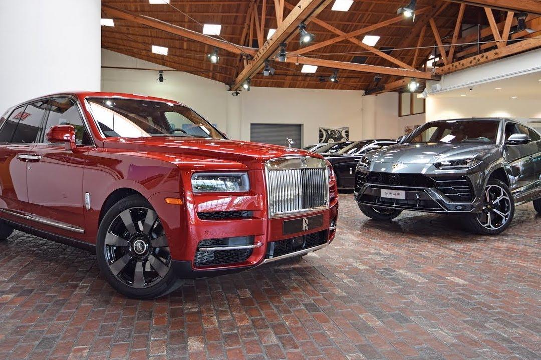 Lamborghini Urus vs Rolls Royce Cullinan