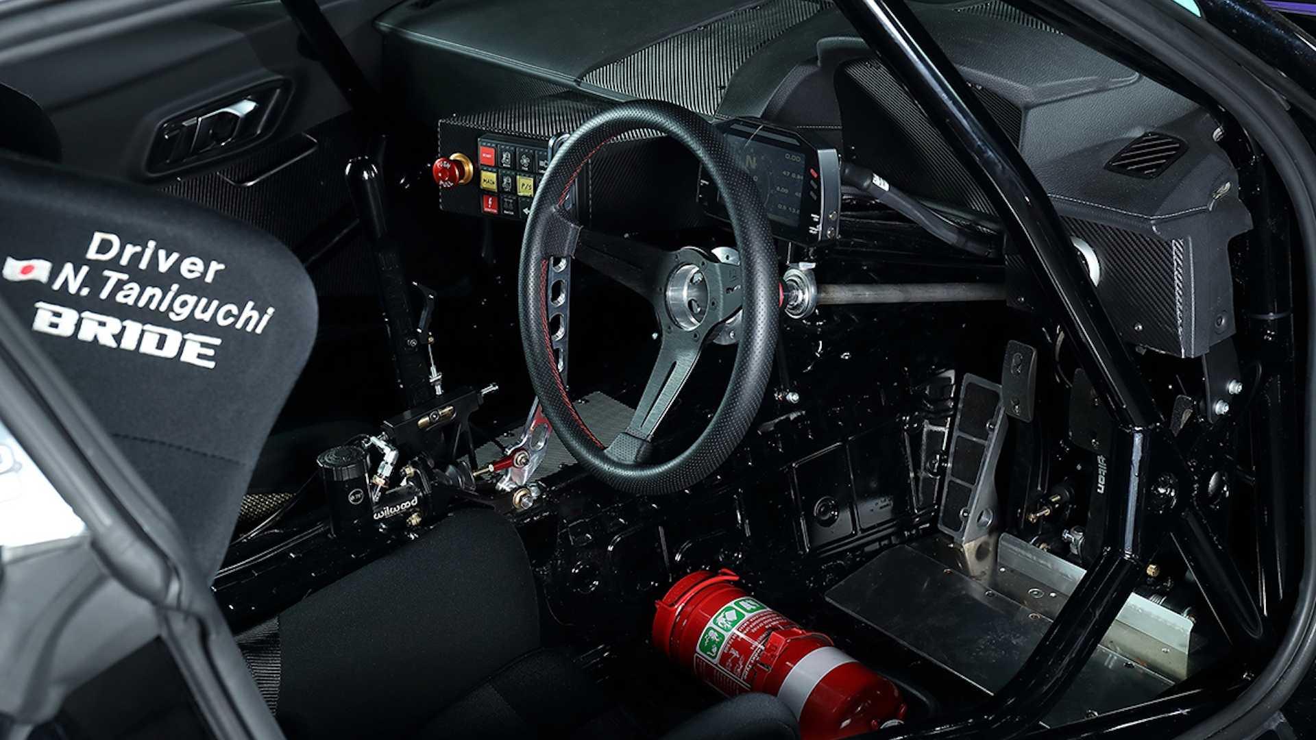 HKS Toyota Supra Interior