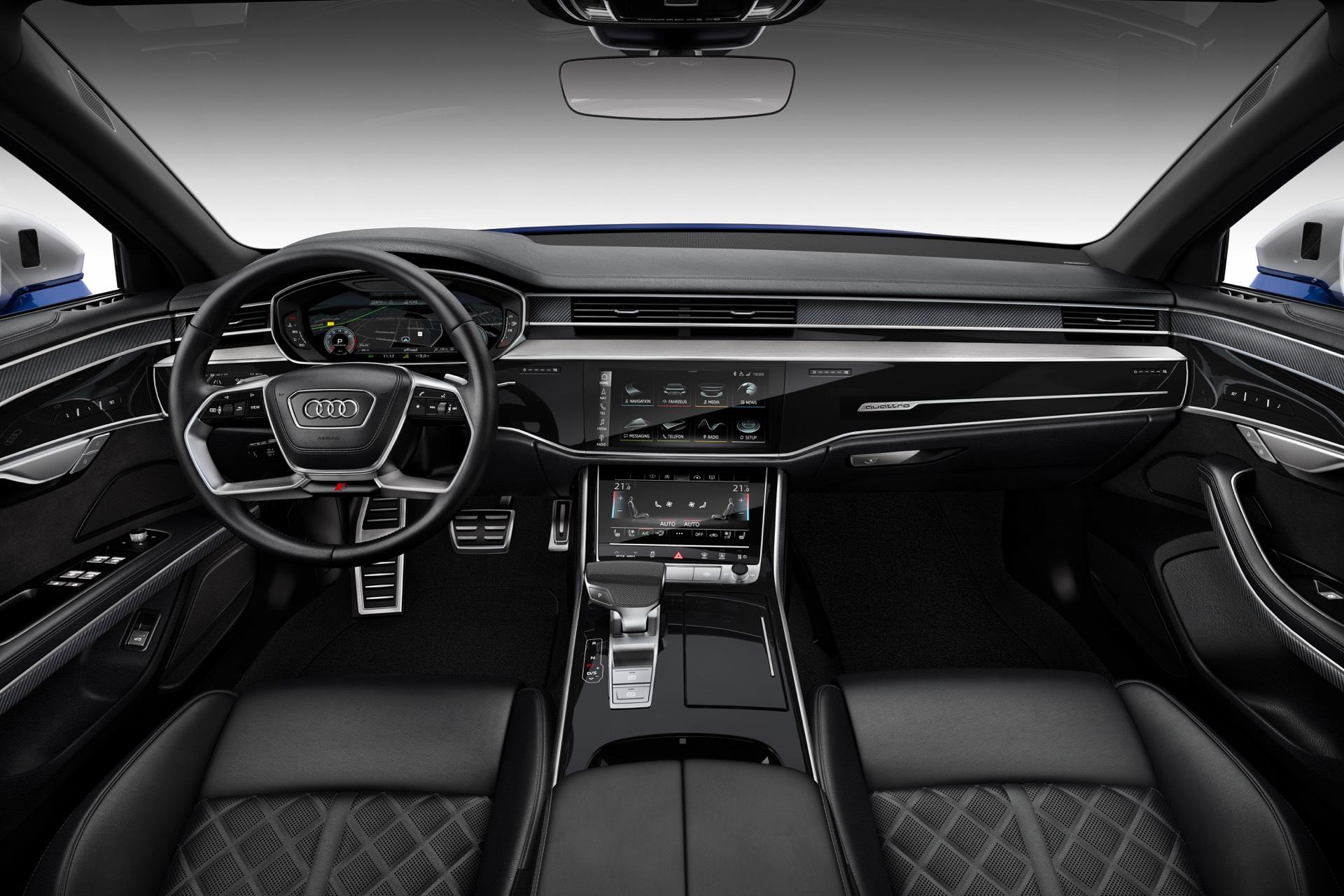 2020 Audi S8 Interior