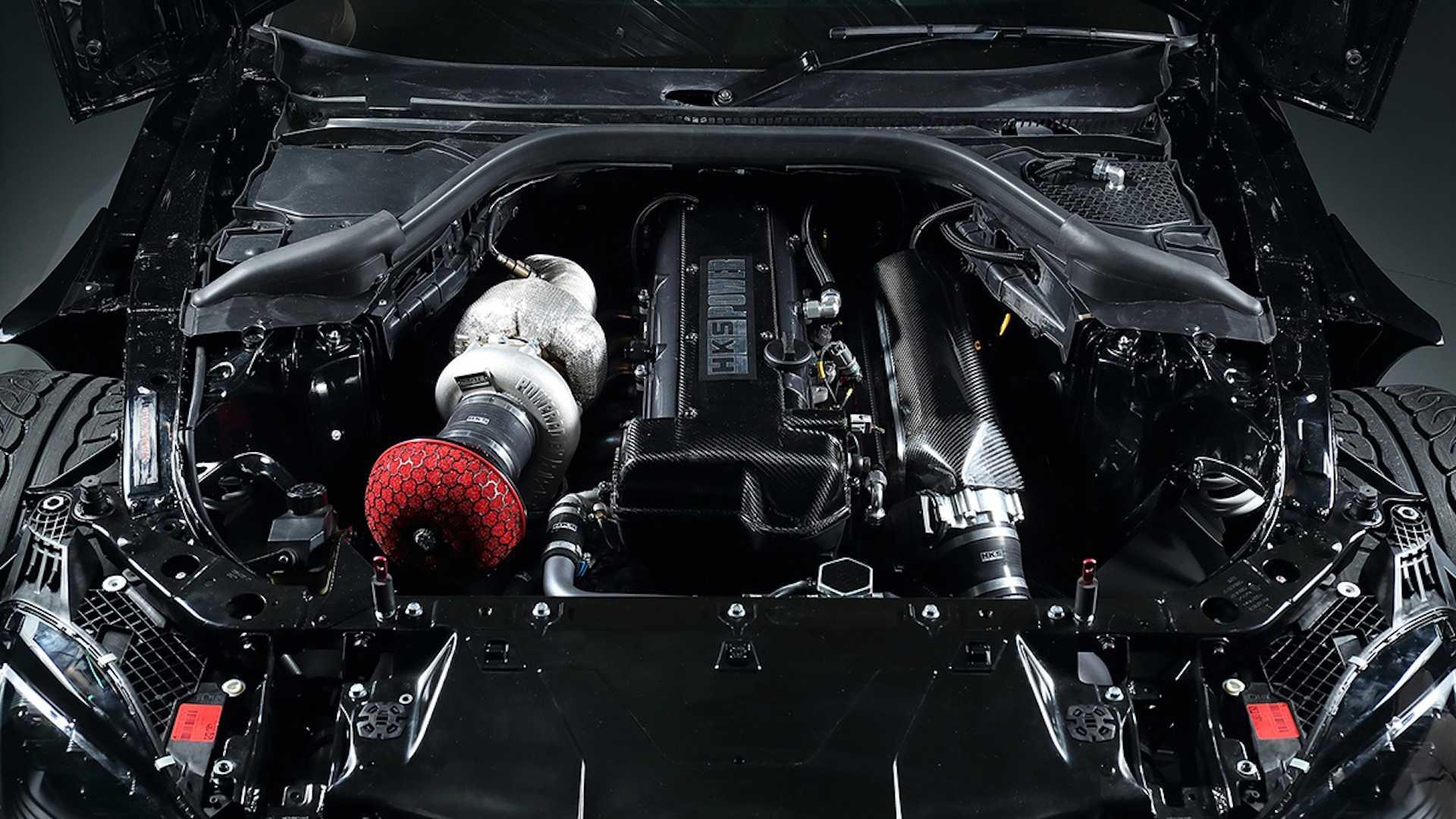 HKS Toyota Supra Engine
