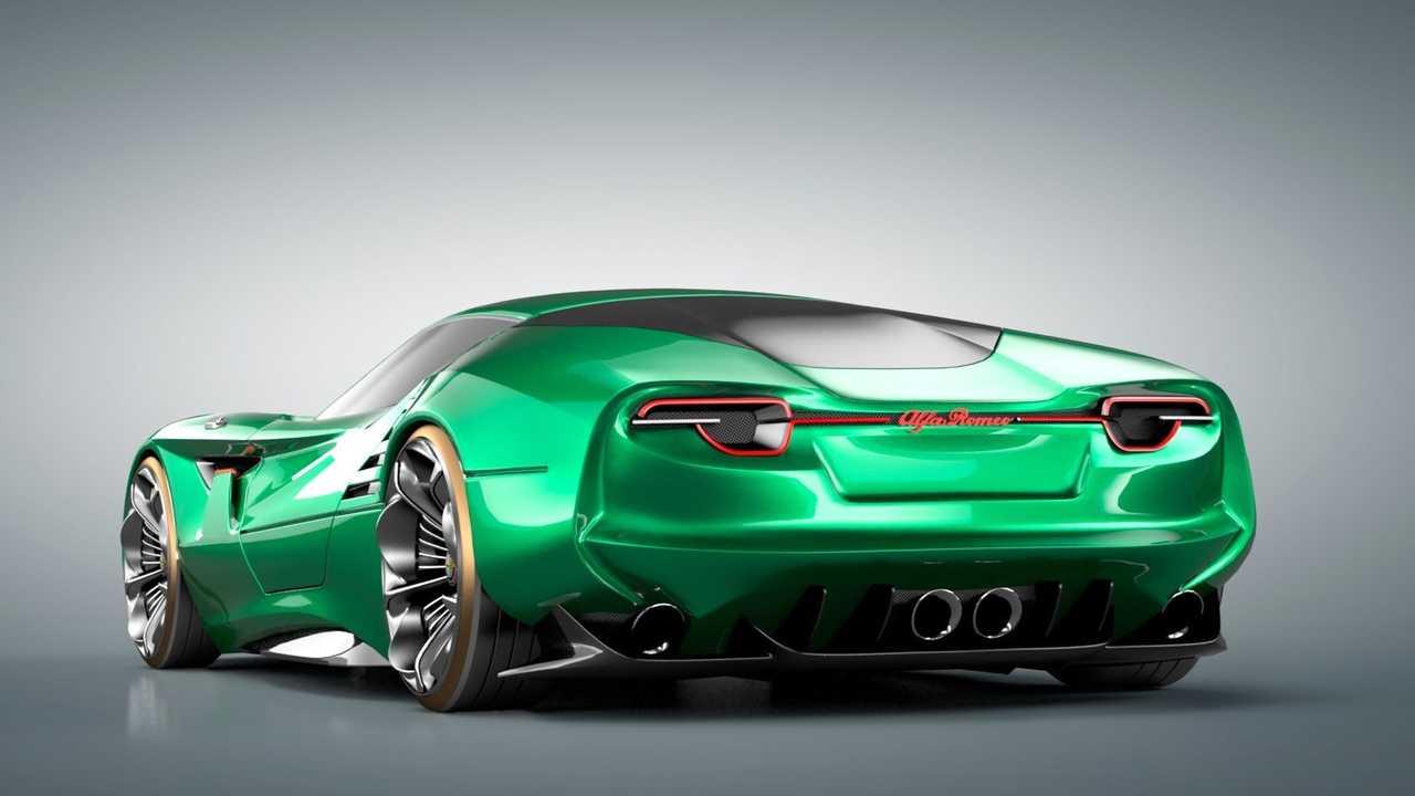 Luca Serafini Alfa Romeo Montreal Concept Car