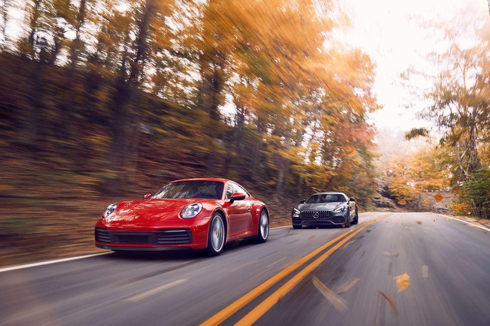 2020 Porsche 911 vs 2020 Mercedes-AMG GT