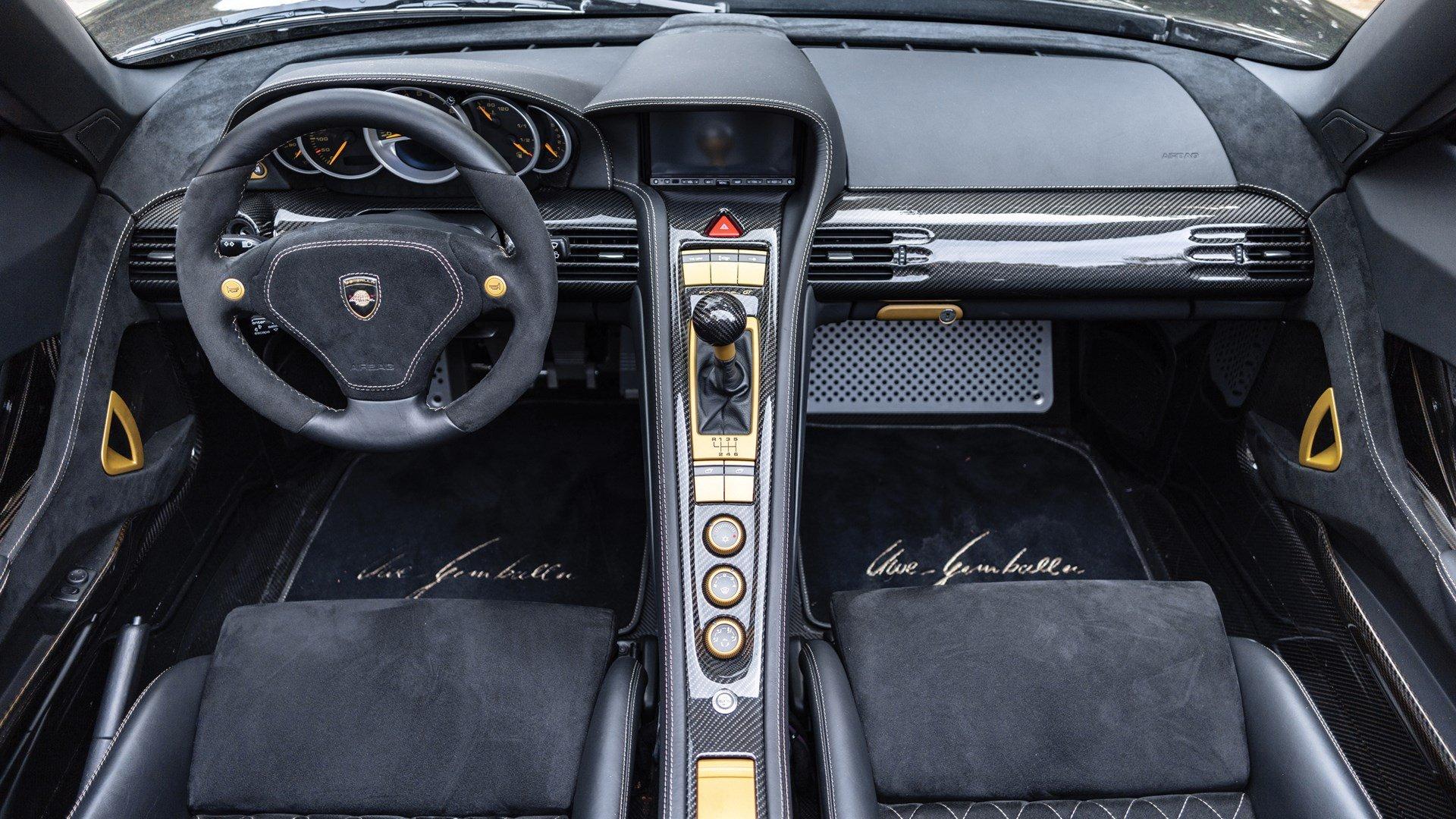 Porsche Gemballa Mirage GT Interior