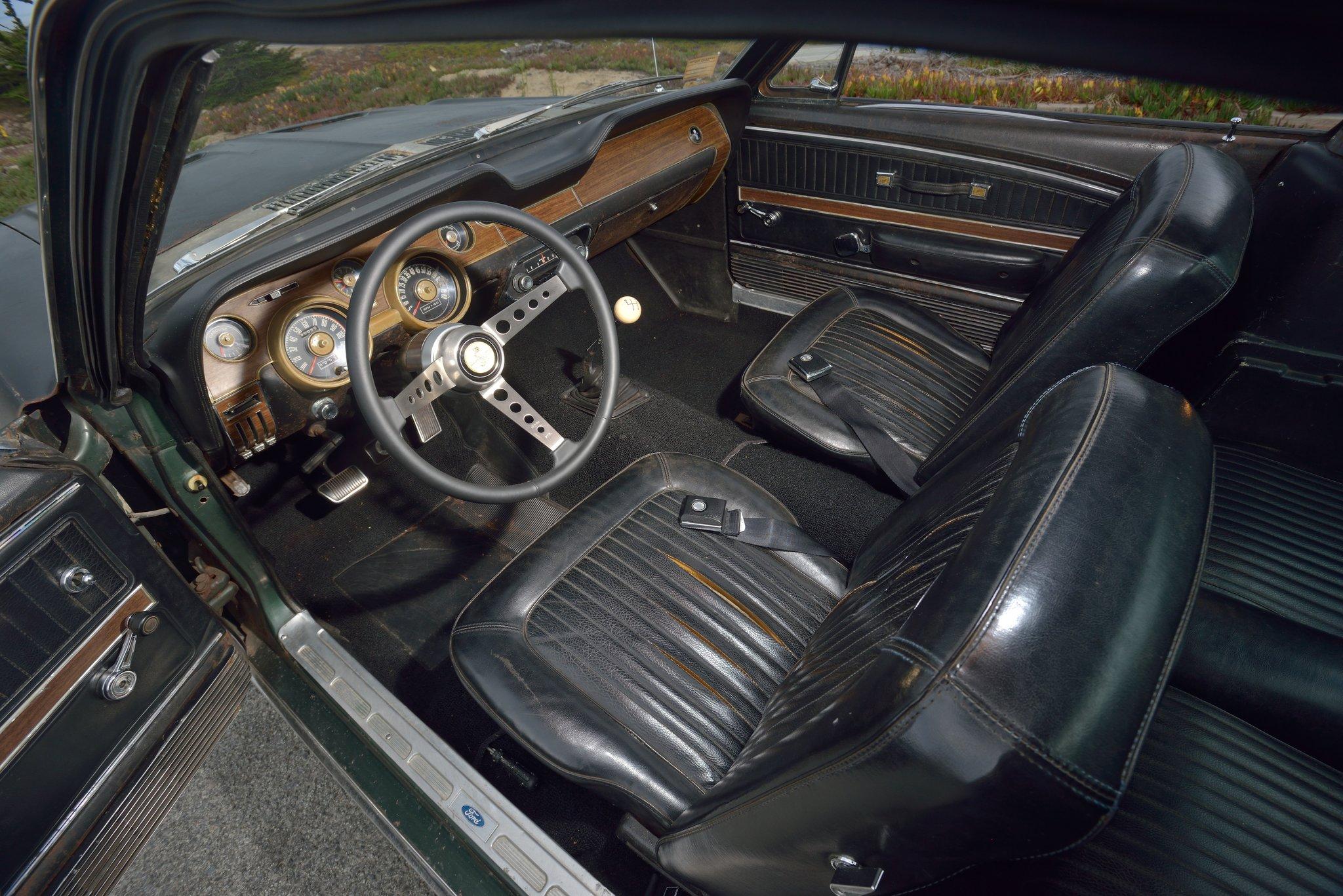 1968 Bullitt Mustang Interior