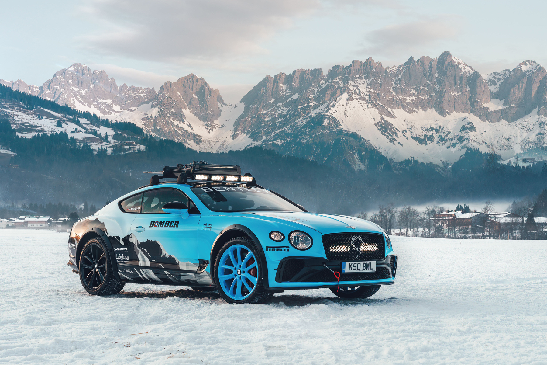 Bentley Continental GT Bomber Ski Edition