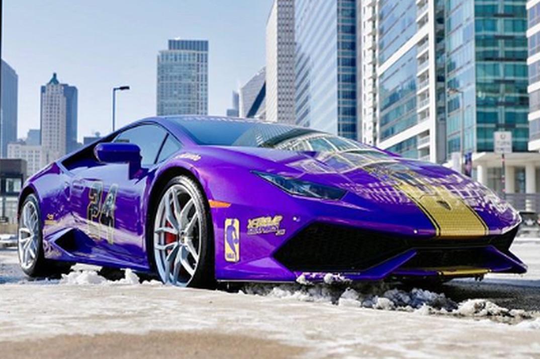 Kobe Bryant Lamborghini