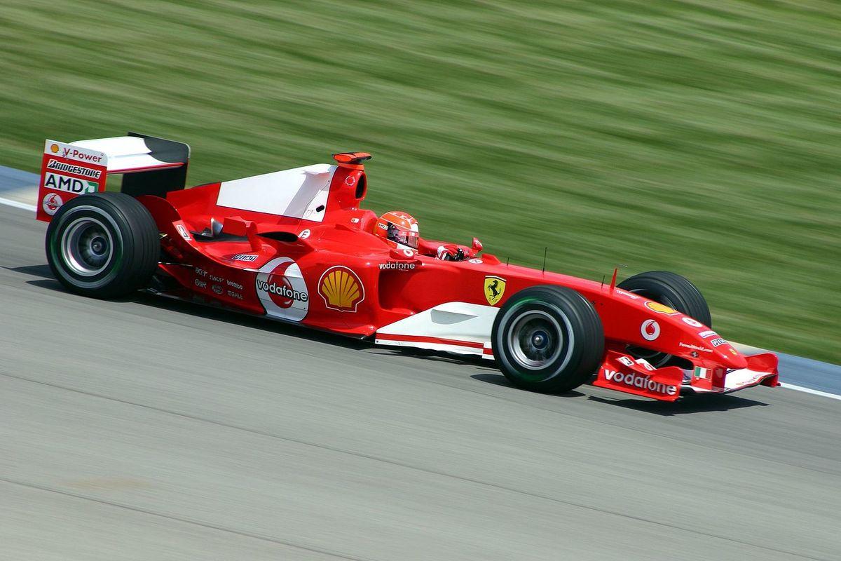 Ferrari F2004 Race Car