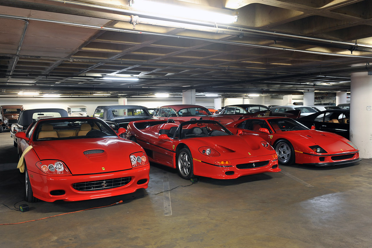 Petersen Museum Supercar Vault