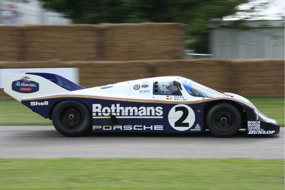 Porsche 956 Race Car