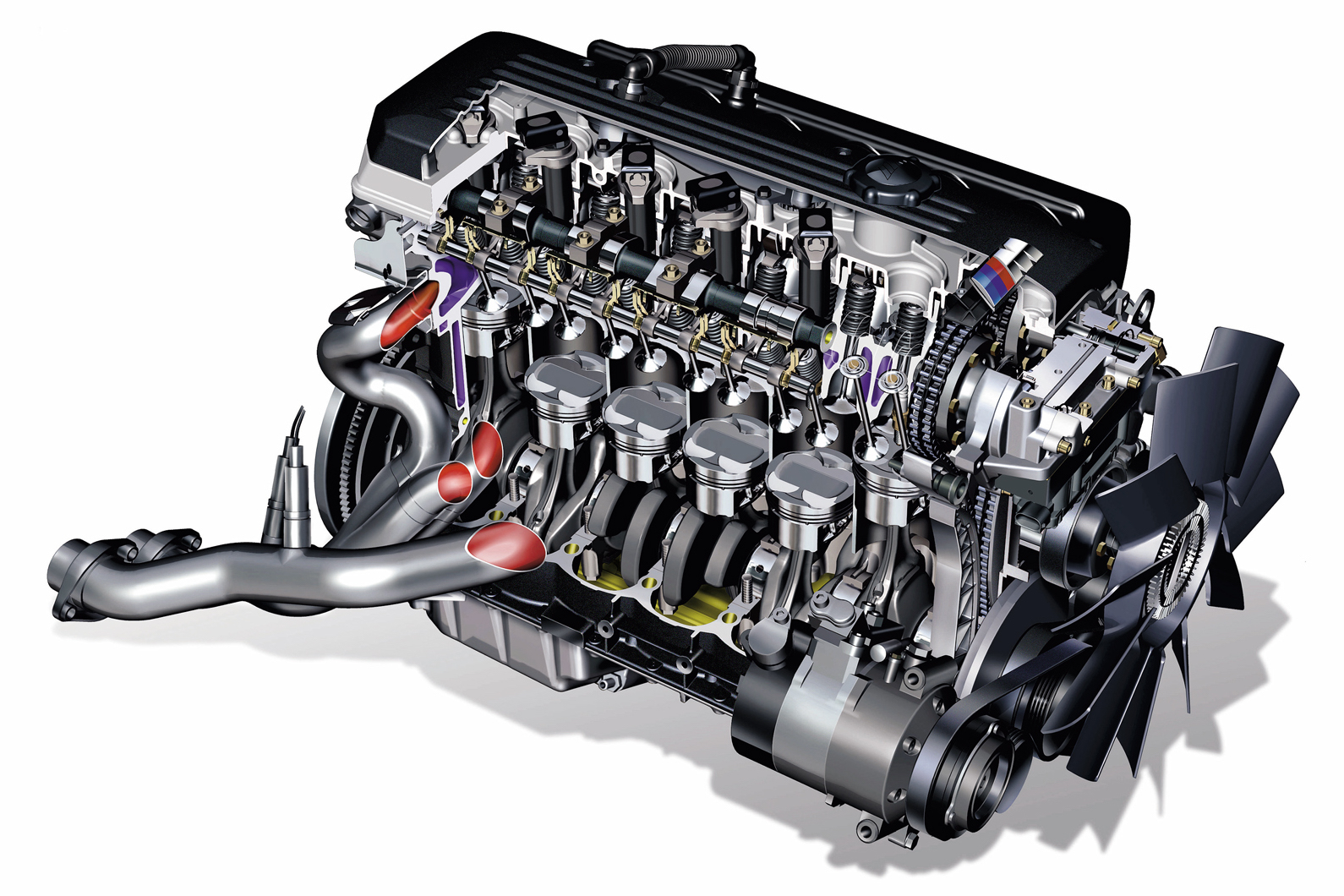 S54 BMW Engine