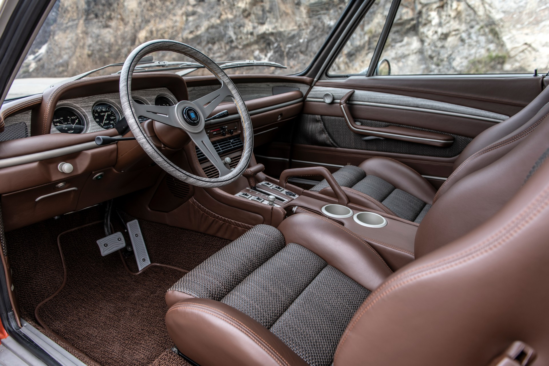 1974 SpeedKore BMW 3.0 CS Interior